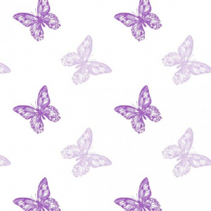 BUTTERFLY FILM TWO TONE PURPLE  41-00229